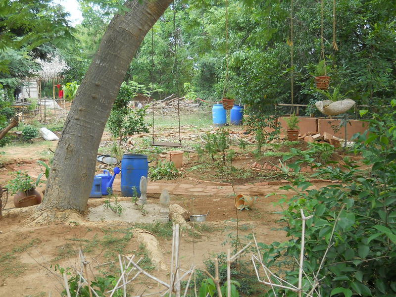 Photographer:Renu | Nursery and Composting area