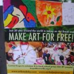 Art Break Day, Friday 5th at Dreamer's Caffe in International Zone