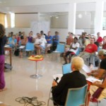 Auroville's residents and members of the Aurovile Council