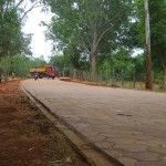 New paved road from Sincerity to Ganesh Bakery