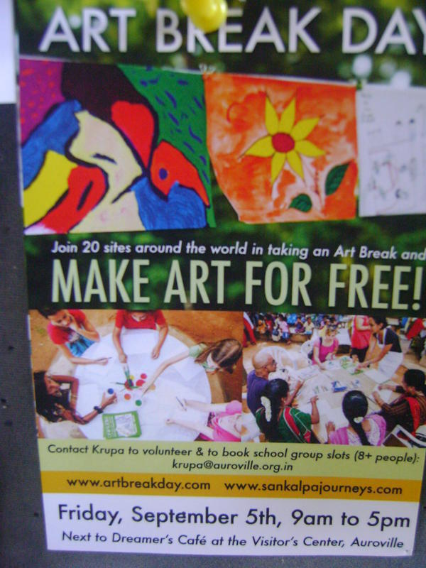 Photographer:Barbara | Art Break Day, 5th of September, Dreamers Caffe, Visitor Centre, International Zone