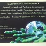 Medcicnal Plants and Consciousness