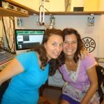 Chloé et Sandrine