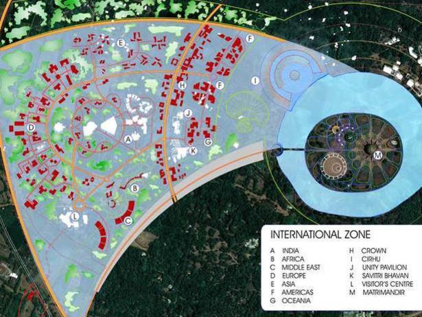 Photographer:web | International Zone plan