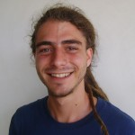 Riccardo a volunteer of Auroville Weekend Farmers' Market, and other projects
