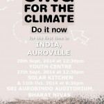 Sing for the Climate - Do it Now  at Auroville Weekend Farmers' Market