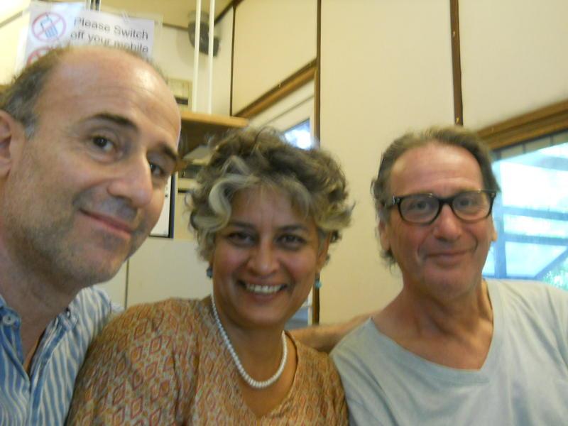 Photographer:Andrea   Andrea, Renu and Roland