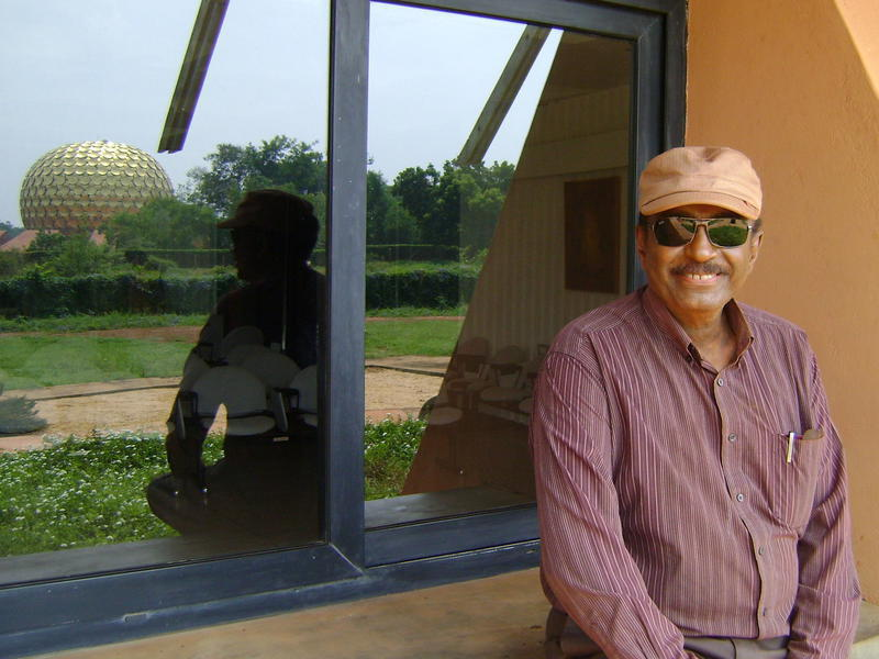 Photographer:Auroville Radio archive  | Haimanot Alemu interview on 26th of Octoboer 2012 - AVRadio archive