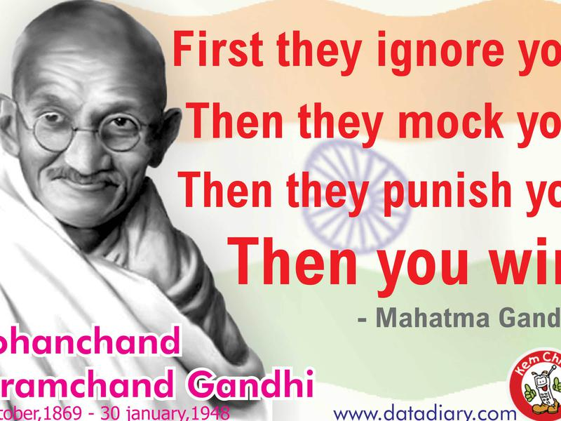 the life and contributions of mohatma karamchand gandhi Mahatma gandhi had an immense contribution in india's freedom struggle as well as social and cultural development.