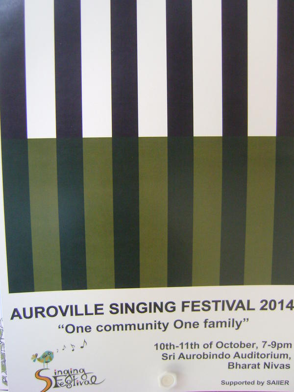 Photographer:Martha | AV Singing Festival, 10th 11th at Sri Aurobindo Auditorium