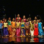 Childrern performing Tamil songs