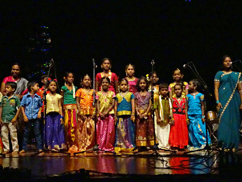 Photographer:Giorgio Molinari | Childrern performing Tamil songs