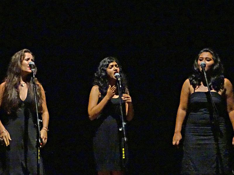 Photographer:Giorgio Molinari | From left: Victoria, Ahilya & Aanandini
