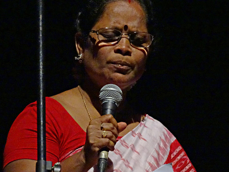 Photographer:Giorgio Molinari | Performing a traditional song from Odisha