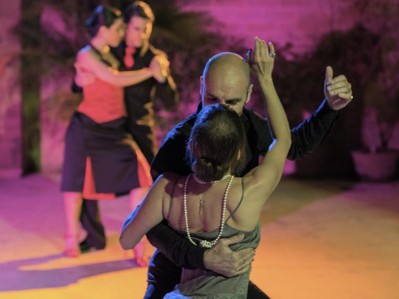 Photographer:Corolian Mia Studio | Opening night of the Auroville Holi Tango Festival 2014