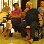 Front row: Alain Bernard (right) and Jocelyn B.