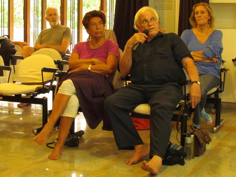 Photographer:Lalit | Front row: Alain Bernard (right) and Jocelyn B.