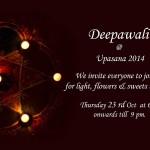 Tonight Deepawali with Upasana at 6pm