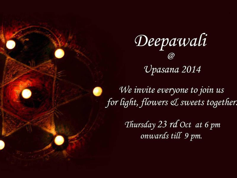 Photographer:web | Tonight Deepawali with Upasana at 6pm