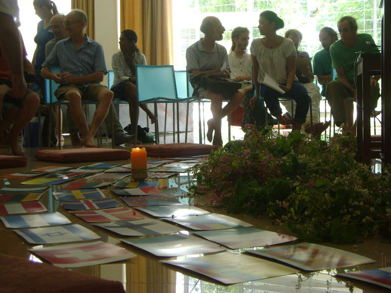 Photographer:Lua | presentations of Paviliong Groups of International Zone at Unity Pavilion