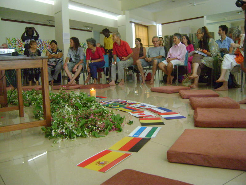 Photographer:Lua | presentations of Paviliong Groups of International Zone at Unity Pavilion