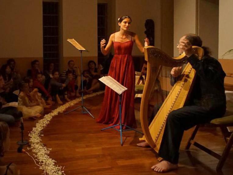 Photographer:Giorgio Molinari | Medieval and Renaissance Music Concert with Maestro Enrico Euron and Anna Gaelle Cuif