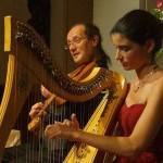 Harp and Viola