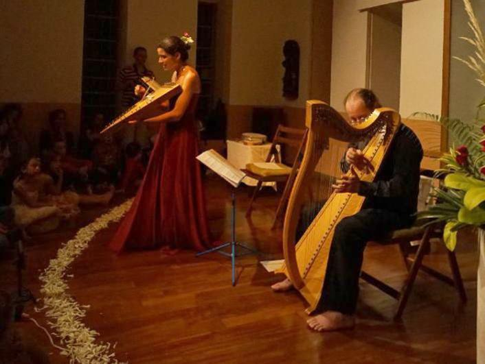Photographer:Giorgio Molinari | Medieval and Renaissance Music Concert with Maestro Enrico Euron and Anna Gaelle Cuif