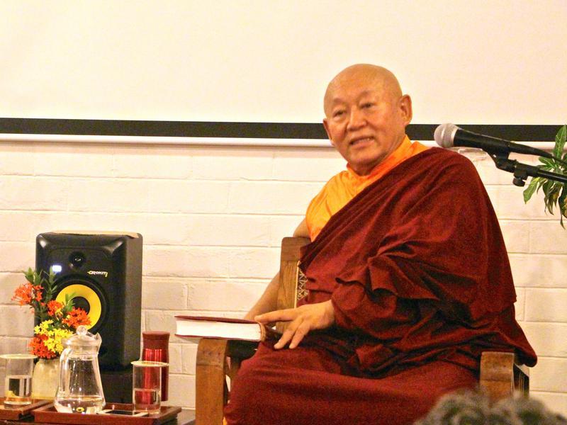 Photographer:Roland | His Holiness the Drikung Kyabgon Chetsang