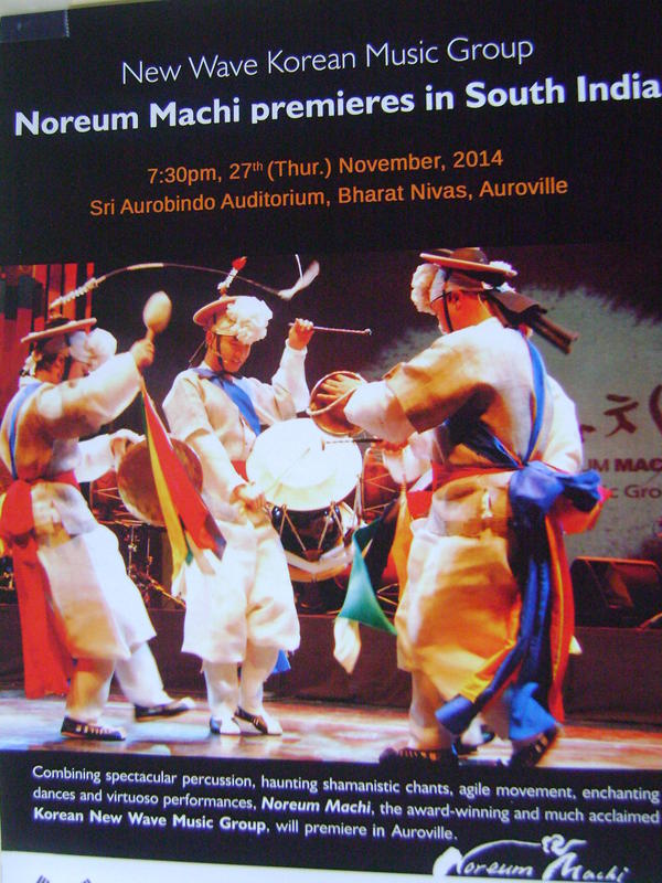 Photographer:Martha | The New Wave Korean Music Group Noreum Machi 27th at 7.30 at BN