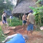 Volunteering in Auroville Sadhana Forest