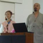 Konohana Family - Yoko and its founder, Isadon