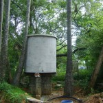Water tank at Africa House, Pavilion of African Culture, International Zone