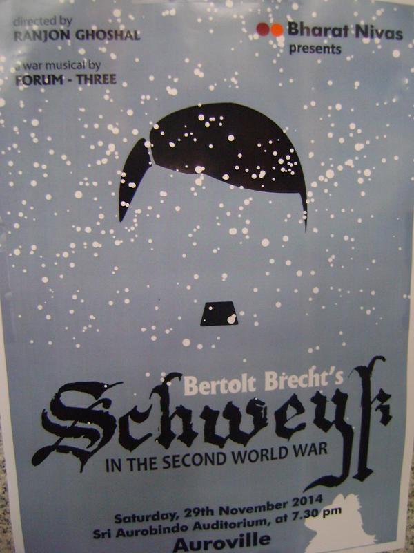 Photographer:Amadea | Three Theater play Bertlod Brecht - SchweykBharat Nivas, IZ