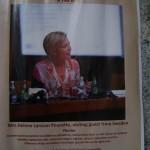 Talk by Mrs.Helene Larsson Pousette