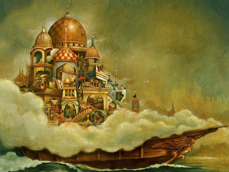 Photographer:Artwork produced for Italo Calvino's classic Invisible Cities. | liseljaneashlock.com