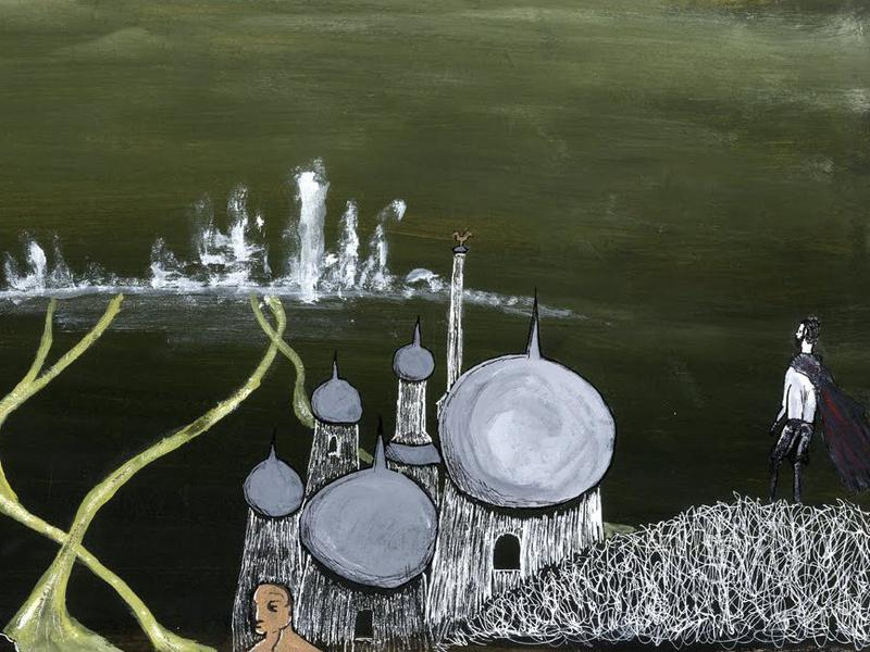 Photographer:Artwork produced for Italo Calvino's classic Invisible Cities.    garymackean.blogspot.in