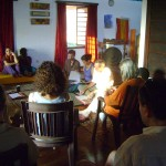 Workshop by Aryamani on Reflection of Continental Unity