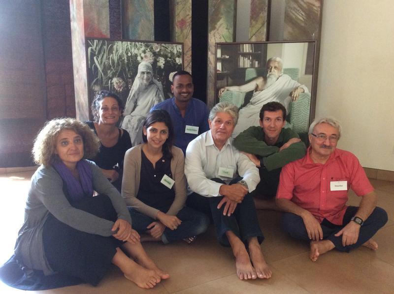 Photographer:AVnet | new Working Committee members - Angela , Eliza, Mandakini, Carel, Ranjith Kumar, Eric and Manohar