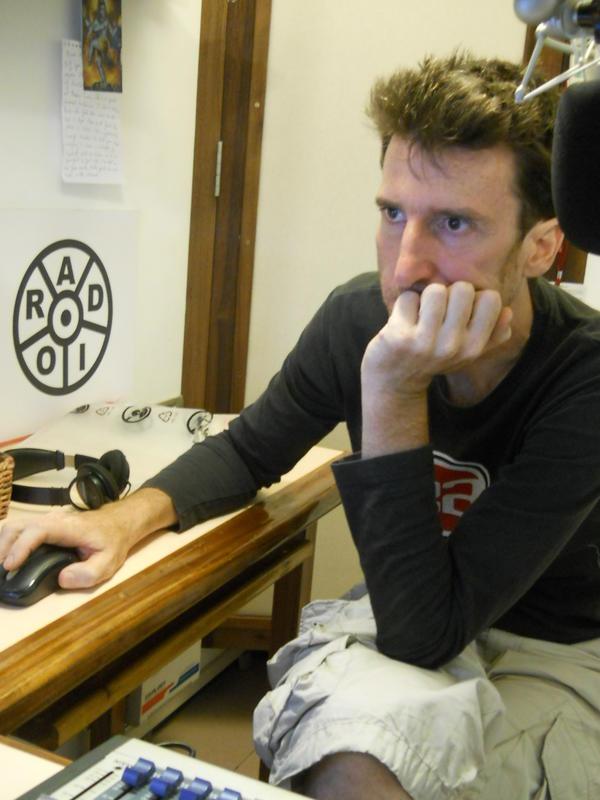 Photographer:Renu | Lionel at the Radio studio