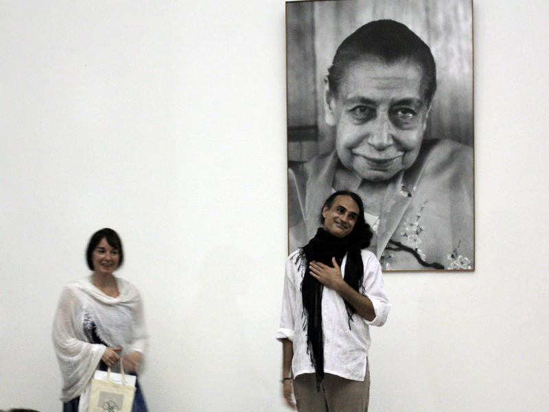 Photographer:Courtesy - Savitri Bhavan | From left: Heather Lee and Kim Cunio