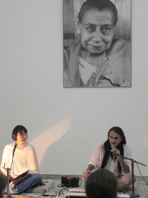 Photographer:Courtesy - Savitri Bhavan | From left: Heather Lee and Kim Cunio