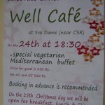 Christmas Dinners  - Well Caffe, Visitor Centre