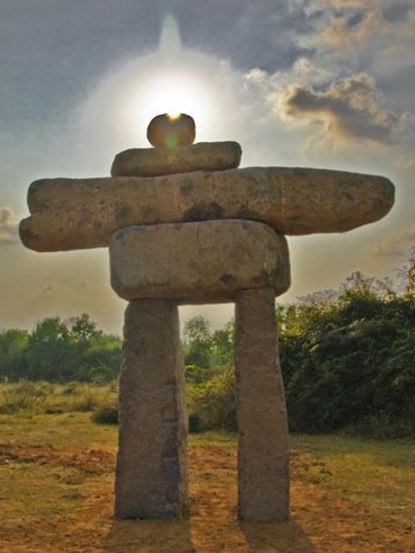 Photographer:Giorgio Molinari   Auroville's Inushuk