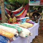 Mani from Celebration community. Their units produces hammocs & handloom home textile.