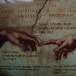 Violin Solo Recital at Ptianga by Vladislav on Sunday at 5.30pm