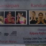 Samarpan and Kandam, 28tjh at 6pm Bharat Nivas