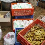 Purchasing and distributing food to villages