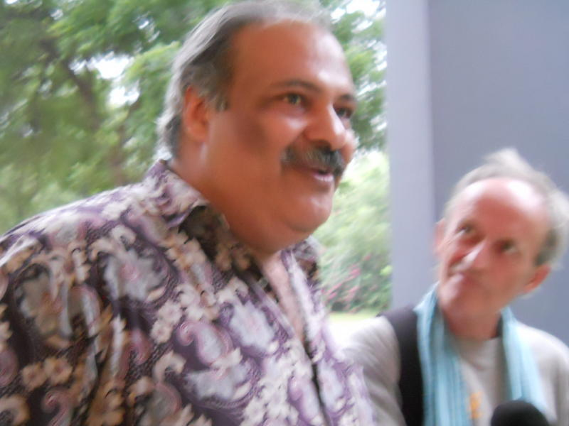 Photographer:Renu | From left: Lalit Verma and Wazo