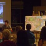 presentation at Unity Pavilion on trip to Brasil